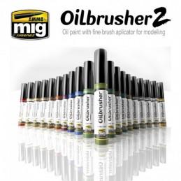 Ammo Mig - Oil Brushers...