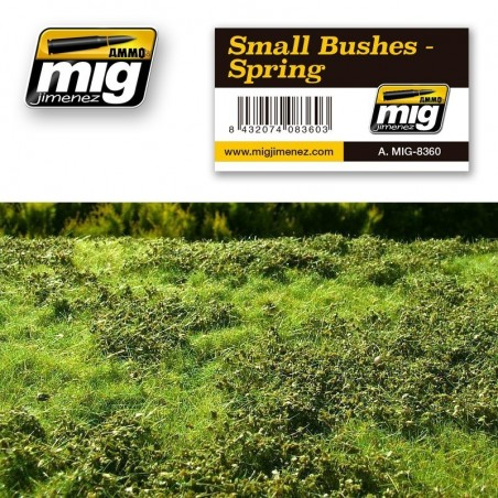 Ammo Mig - Small Bushes - Spring
