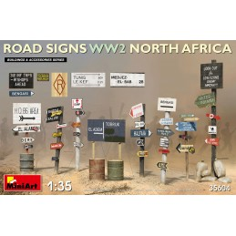 Miniart 1/35 Road Signs WW2...