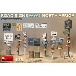 Miniart 1/35 Road Signs WW2...