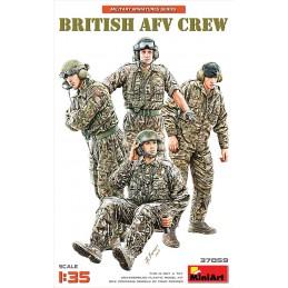 Miniart 1/35 British AFV Crew