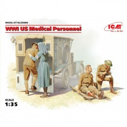 ICM 1/35 WWI US Medical...