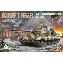 Takom 1/35 King Tiger Late...