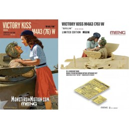 Meng 1/35 Victory Kiss M4A3...