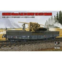 T-Model 1/72 88mm FLAK 36...