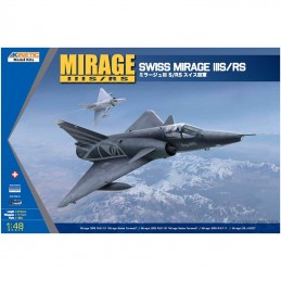 Kinetic 1/48 Mirage IIIS/RS