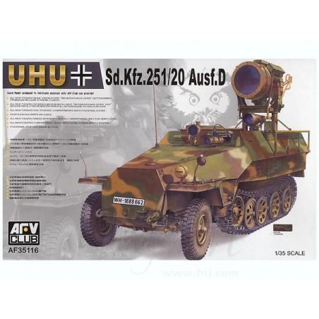 "AFV 1/35 Sd.Kfz.251/20 Ausf.D ""UHU"""