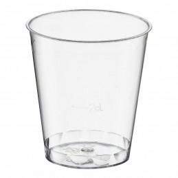 40 verres en plastique de 4cl