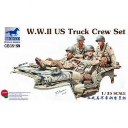 Bronco 1/35 U.S. Truck Crew...
