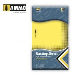 Ammo Mig - Masking Sheet A4