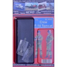 Plus Model 1/48 Crew F-14...