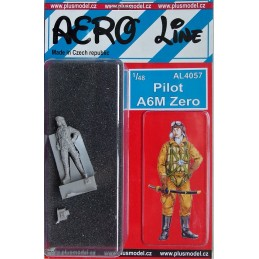 Plus Model 1/48 Pilot A6M Zero
