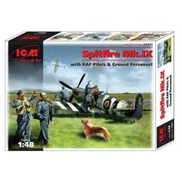 ICM 1/48 Spitfire MK. IX...