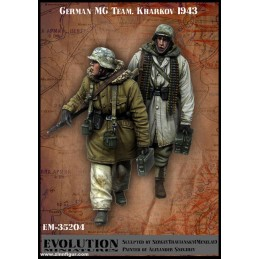 Evolution 1/35 German MG...