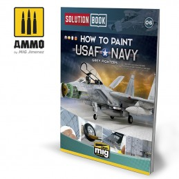 Ammo Mig How To Paint USAF...