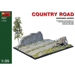 Miniart 1/35 COUNTRY ROAD
