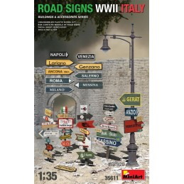 Miniart 1/35 Road Signs...