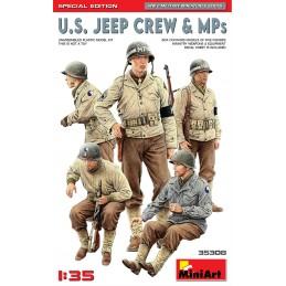 Miniart 1/35 U.S. Jeep Crew...