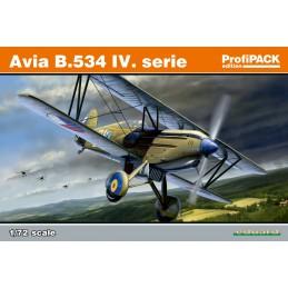 Eduard 1/72 Avia B.534 IV....