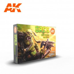 AK Acrylic 3G -ORCS AND...