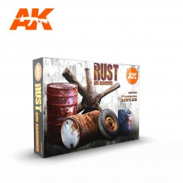 AK Acrylic 3G - RUST AND...