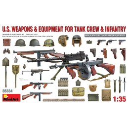 Miniart 1/35 U.S. WEAPONS &...