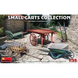 Miniart 1/35 SMALL CARTS...