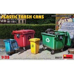 Miniart 1/35 Plastic Trash...