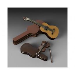 Royal Model 1/35 Guitar and...