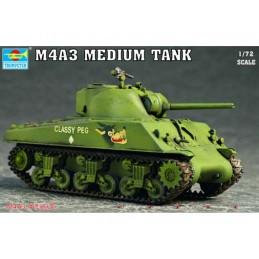 Trumpeter 1/72 Sherman M4A3...