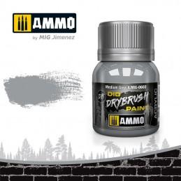AMMO - DRYBRUSH Medium Grey...