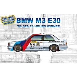 Nunu 1/24 BMW M3 E30 1988...