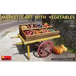 Miniart 1/35 Market Cart...