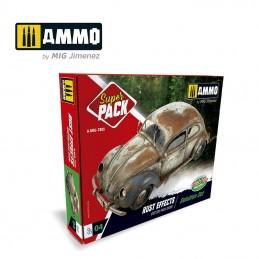 Ammo Mig - Super Pack Rust...