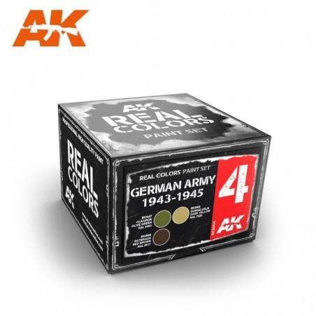 AK Real Colors GERMAN ARMY 1943-1945 SET