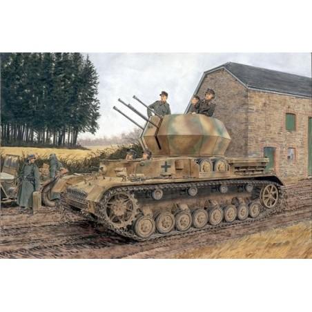 Dragon 1/35 Sd.Kfz. 161/4 2cm Flakpanzer IV Wirbelwind