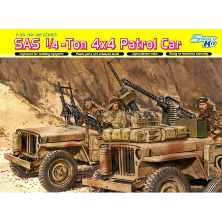 Dragon 1/35 SAS 1/4-Ton 4x4 Patrol Car