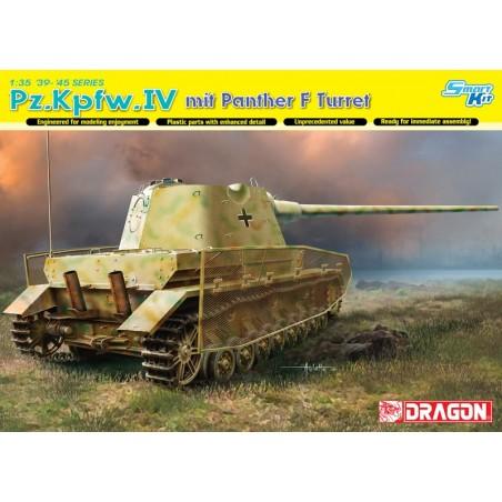Dragon 1/35 Pz.Kpfw.IV mit Panther F Turret
