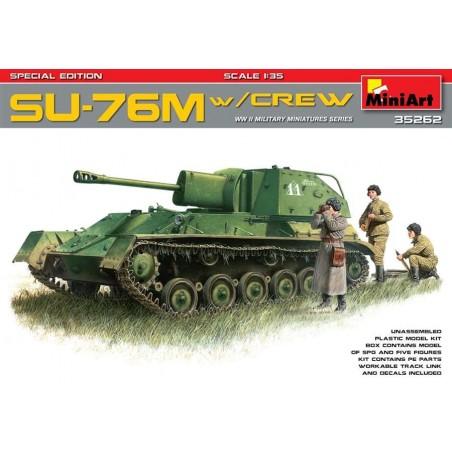Miniart 1/35 SU-76M w/Crew Special Edition