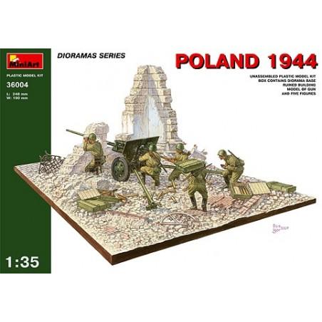 Miniart 1/35 Polen 1944 mit Russischer Artillerie