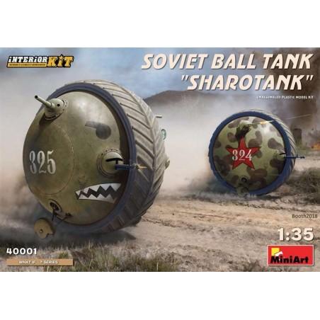 """Miniart 1/35 Soviet Ball Tank """"Sharotank""""Interior Kit"""
