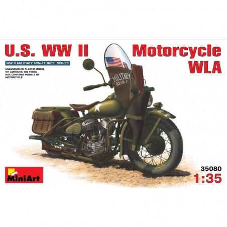 Miniart 1/35 U.S. WW II Motorcycle WLA