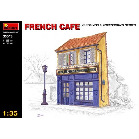 Miniart 1/35 Ruined French cafe
