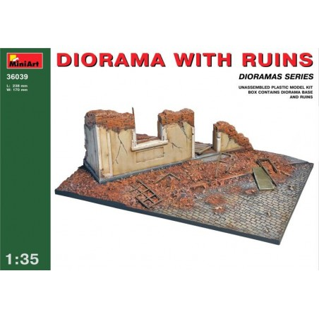 Miniart 1/35 Diorama with Ruins