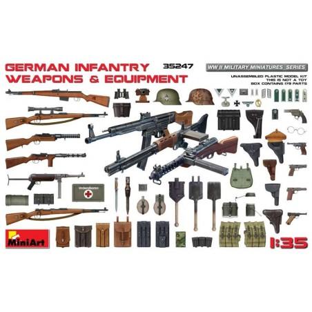 Miniart 1/35 German Infantry Weapons & Equipment