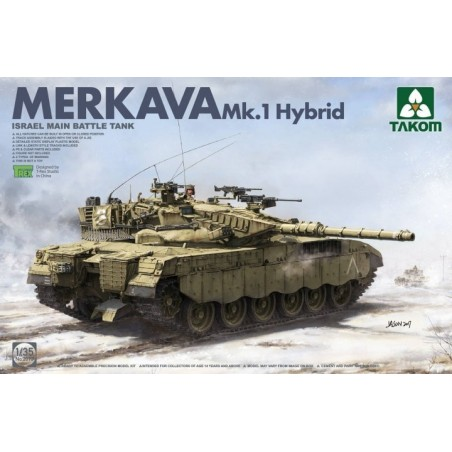 Takom 1/35  Israeli Main Battle Tank Merkava 1 Hybird