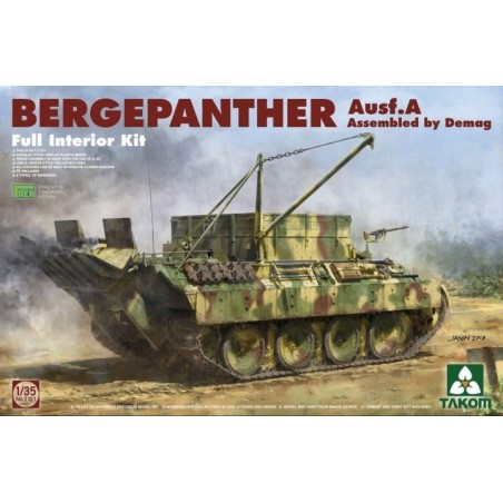 Takom 1/35 Bergepanther Ausf.A - DEMAG - full Interior