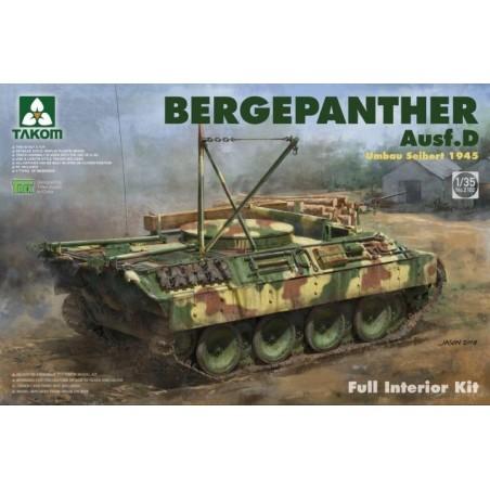 Takom 1/35 Bergepanther Ausf.D Umbau Seibert 1945 -Interior