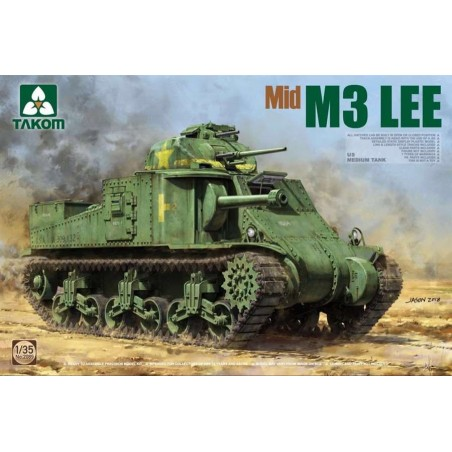 Takom 1/35 US Medium Tank M3 Lee Mid