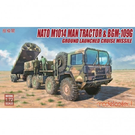 Modelcollect 1/72 Nato M1001 MAN Tractor & BGM-109G Ground Launched Cruise Missile